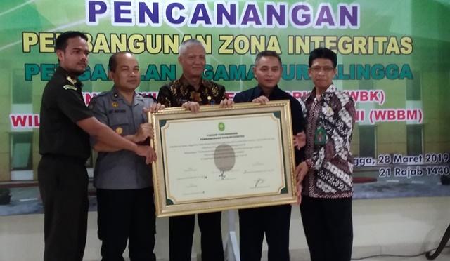 Deklarasi Zona Integritas Pada Pengadilan Agama Purbalingga